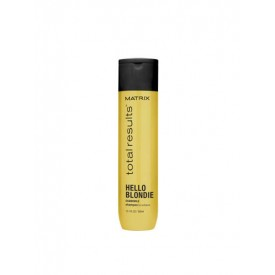 matrix total results hello blondie shampoo 300 ml