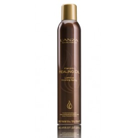 l'anza keratin healing oil lustrous finishing spray 350 ml