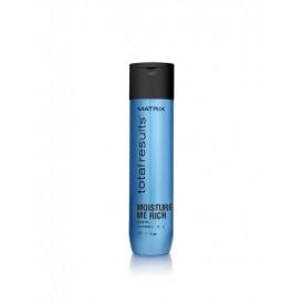 matrix total results moisture me rich shampoo 300 ml