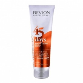 Revlon 45 days color care shampoo 275 ml intense copper