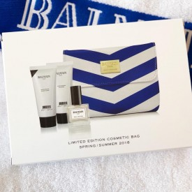 BALMAIN LIMITED EDITION COSMETIC BAG