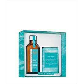 Moroccanoil Treatment Light + húðsápa sem gjöf