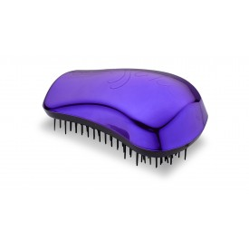 DESSATA DETANGLING HAIR BRUSH METALIC PURPULE