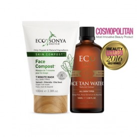 ECO BY SONYA FACE TAN WATER + FACE COMPOST