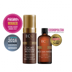 ECO BY SONYA FACE TAN WATER & CACAO FIRMING MOUSSE
