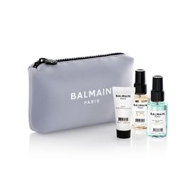 BALMAIN LIMITED EDITION COSMETIC BAG SS20 LAVENDAR