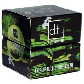 D:fi Extreme Hold Styling Cream 2 x 75 g