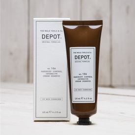 DEPOT NO. 106 DANDRUFF CONTROL INTENSIVE CREAM SHAMPOO 125 ML