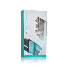 Moroccanoil Treatment Light 100 ml + ceramic paddle brush