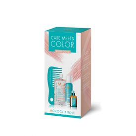 MOROCCANOIL CARE MEETS COLOR ROSE GOLD