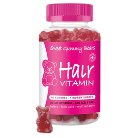 SWEET GUMMY BEARS HAIR VITAMIN