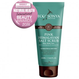 ECO BY SONYA PINK HIMALAYAN SALT SCRUB 250 ml