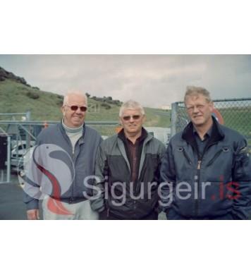 Leifur, Ársæll og Ingibergur.