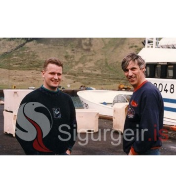 Magnús og Gunnar á Drangavík VE-80.