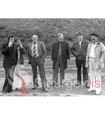 Árni, Gaui, Stebbi, Halli, Einar og Guðni.