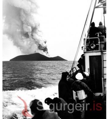 Á leið út í Surtsey.
