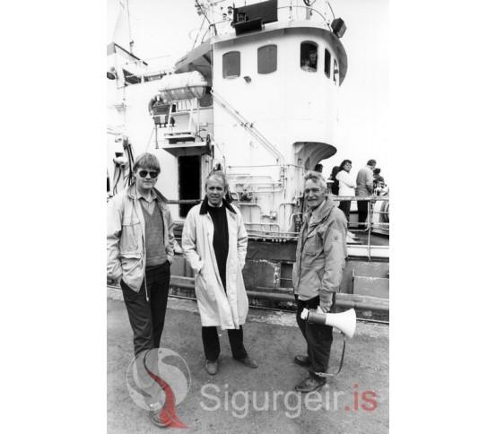 Sigurjón, Eiríkur og Súlli Johnsen.