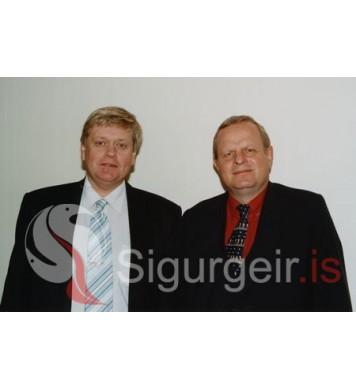 Gaui Hjöll og Páll Einarsson.