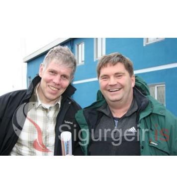 Ómar Garðars og Páll Scheving.