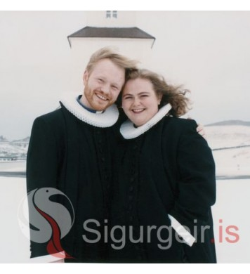 Bjarni og Jóna Hrönn.
