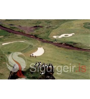 Golfvöllurinn í Vestmannaeyjum.