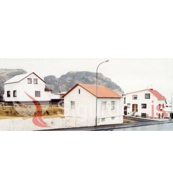 Kirkjuhóll,Eskihlíð, Vegberg.