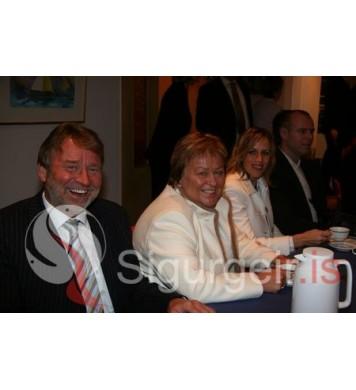 Maggi, Lóa, Andrea og Stebbi.