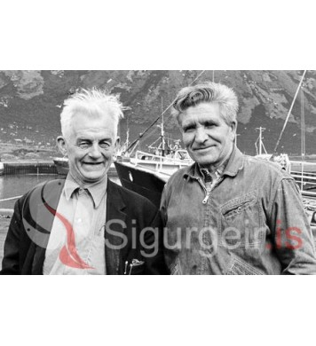 Júlli á Skjaldbreið og Elli í Ólafshúsum.