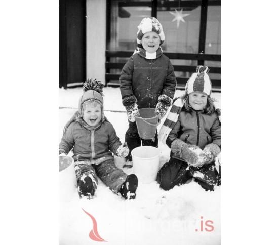 Inga Lilý, Gunnar Geir og María Kristín.