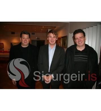 Huginn, Palli og Gylfi.