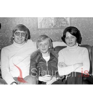 Matti, Svenni og Kristjana.
