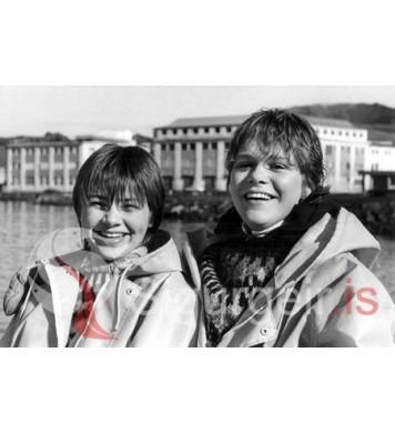 Lovísa Inga  og Kolbrún Hjartar.