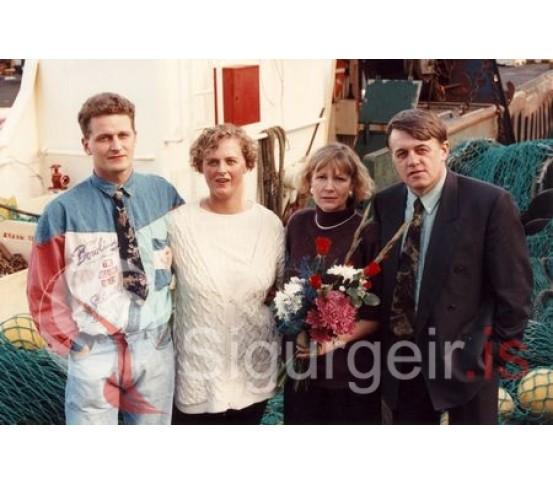 Maggi, Anna Hulda, Sigurður Ingi og Jóna.