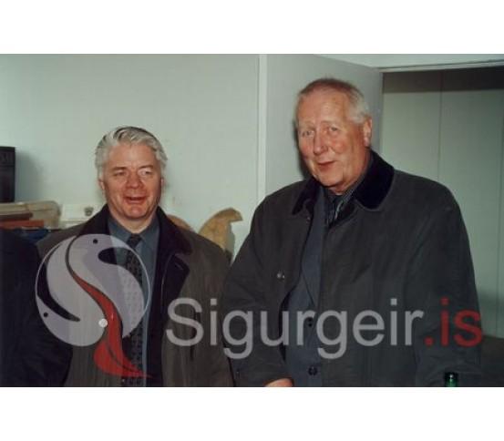 Guðmundur Búason og Stefán Björnsson.