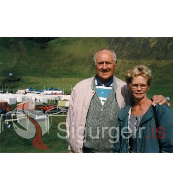 Stebbi Run. og Helga Víglundsdóttir.