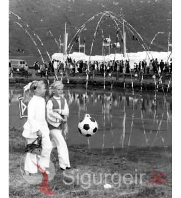 Þjóðhátíð Vestmannaeyja 1970.