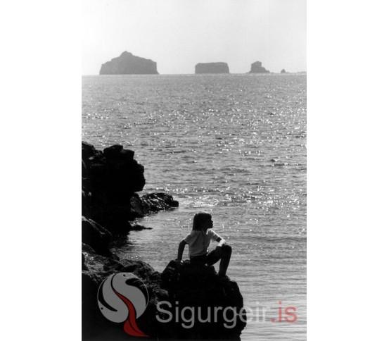 Sumarkyrrð við Kaplagjótu.