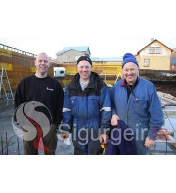 Stebbi, Arnar og Þórarinn.