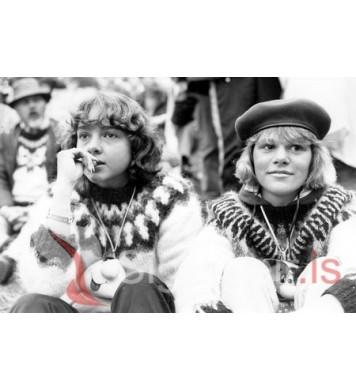 Þjóðhátíð Vestmannaeyja 1984.