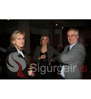 Rut, Andrea og Atli Rúnar.