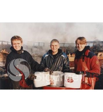 Hjálmar, Ásgeir og Sighvatur.