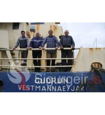 Skipverjar á Guðrúnu Ve.