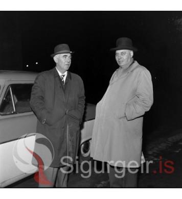 Helgi Ben. og Óskar Gíslason.