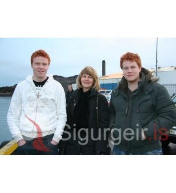 Kristinn, Guðbjörg og Magnús.