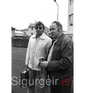 Magnús Kristins og Einar Sigurjónsson.