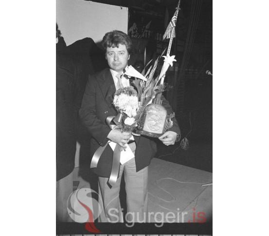 Guðjón Pálsson, fiskikóngur 1979.