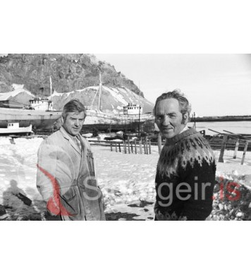 Elías Gunnlaugsson og Eggert Gunnarsson.