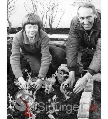 Karl Björnsson og Sigurjón (Sjonni) Sigurðsson