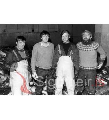 Valdi, Gunnar, Bjarni og Gylfi.