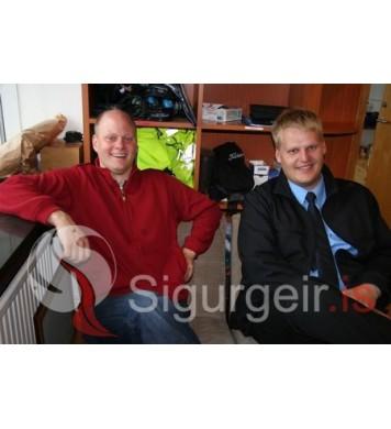 Freyr Valsson og Sigurbjörn.